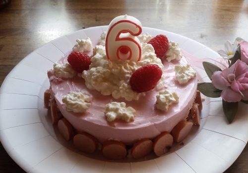 Hunde-Geburtstags-Torten