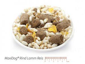 MaxiDog® Rind Lamm Reis